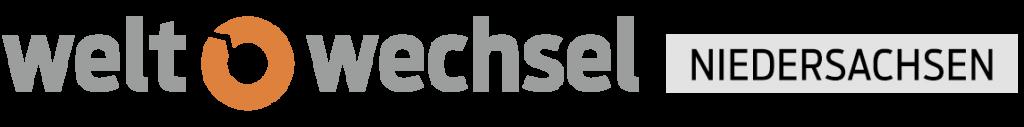 Logo weltwechsel Niedersachsen
